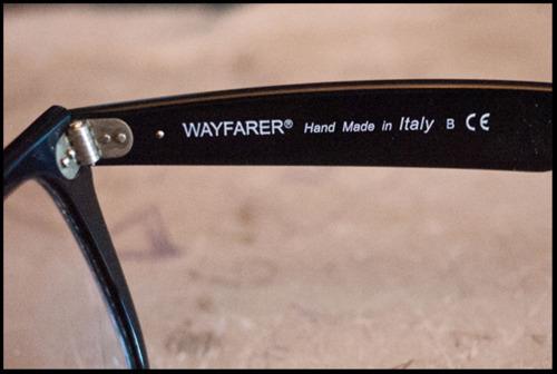 wayfarer fake glasses  Clicky Steve\u0027s Guide to Spotting Fake Rayban Wayfarers ...