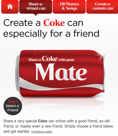 Customisable Coke Can