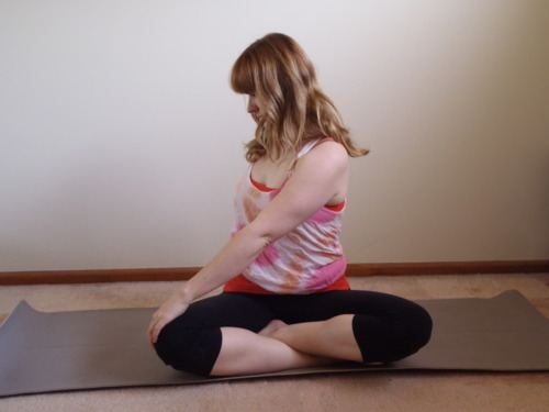 Seated Twist Variation 1