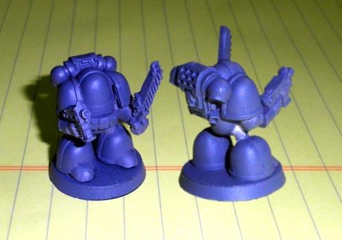 Chibi Space Marines