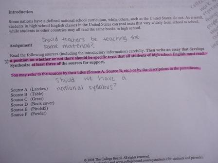 ap lang essays 2012