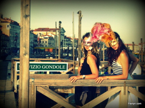 Ready for the carnival - Venice