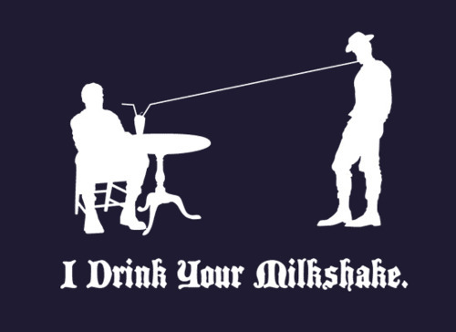Snorg Tees I Drink Your Milkshake shirt