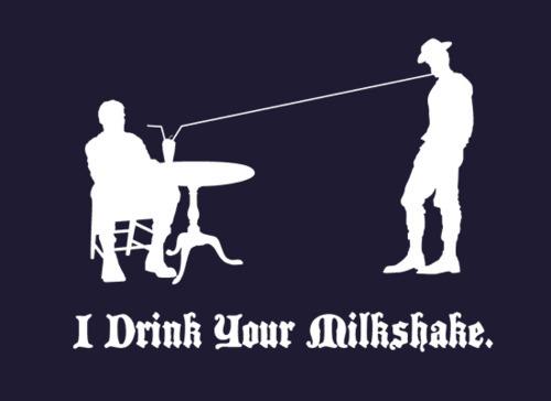 Snorg Tees I Drink Your Milkshake shirt