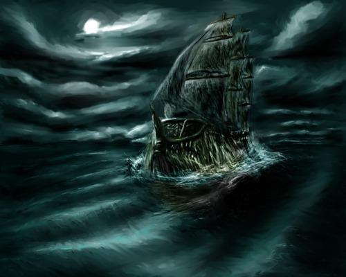 kapal hantu flying dutchman