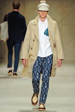 Burberry SS12 Ikat trouser