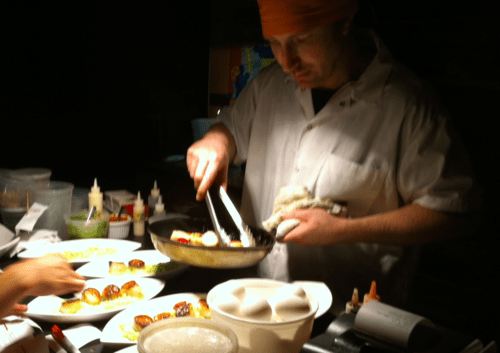 Enjoy dining in a low carb restaurant
