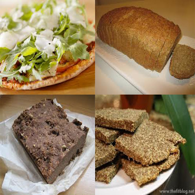 Flax seed bread low carb