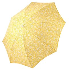 Spectra Yellow Parvani Beach Umbrella from WorldMarket