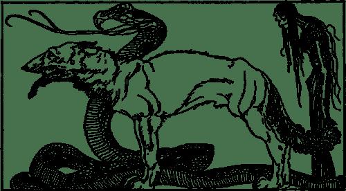 Fenriswulf, Midgardsormr, Hela