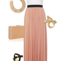 I Love: Coco's Fortune Bustier Maxi Dress