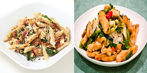 low carb low fat dinner recipes