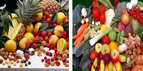 low carb fruits and vegetables list