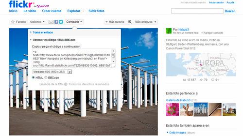 Utilizar Flickr para añadir la geolocalización a tus fotos