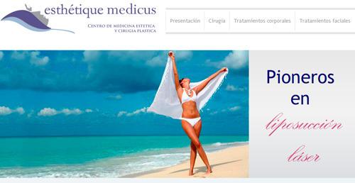 Banner de flash en una página web