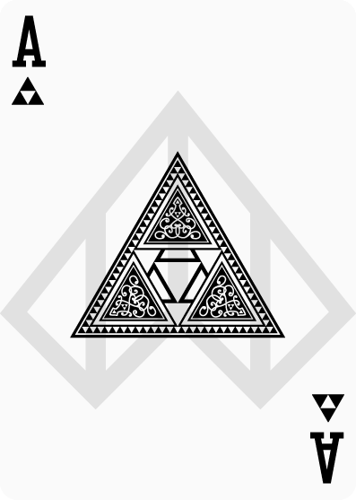 Zelda-Legend-Playing-Cards-by-Nelde-Ace-of-Clubs