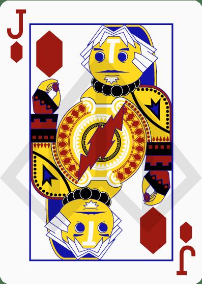 Zelda-Legend-Playing-Cards-by-Nelde-Jack-of-Diamonds