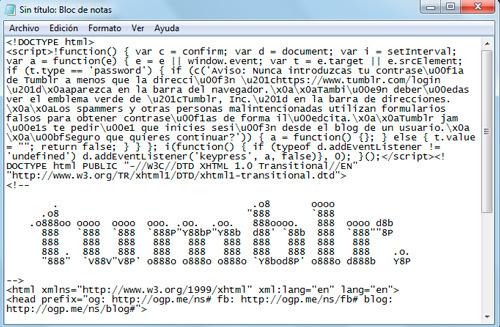 El blog de notas de Windows es una muy buena herramienta para el posicionamiento web