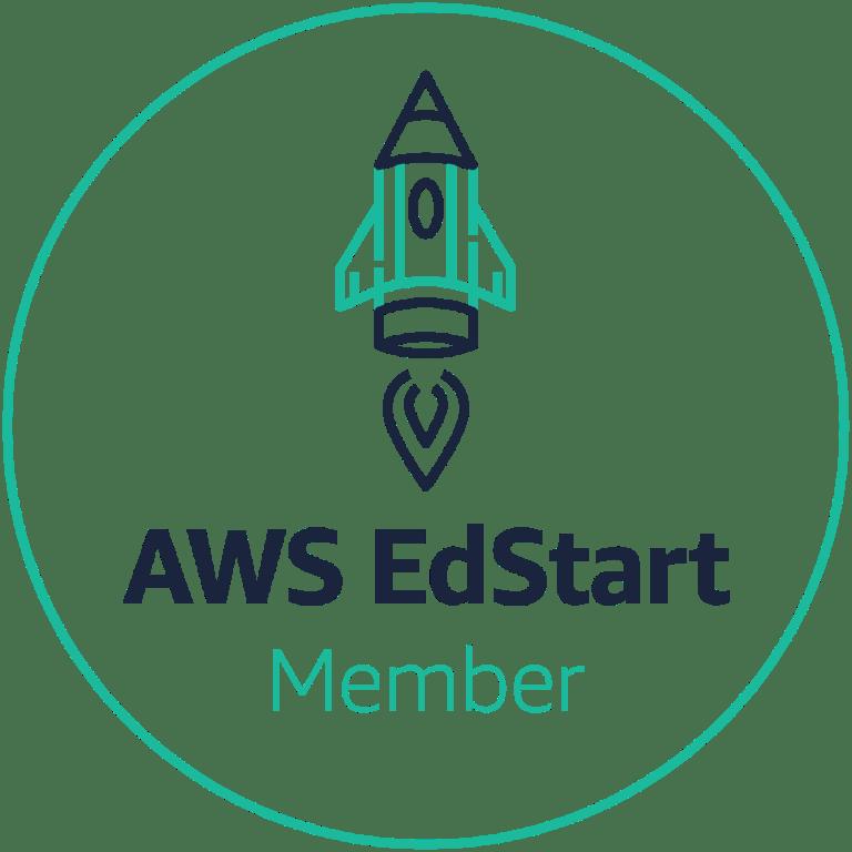 AWS Edstart badge