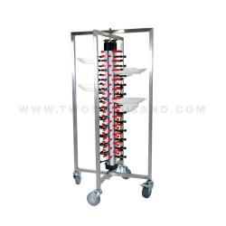 dish racks plate stacking trolleys