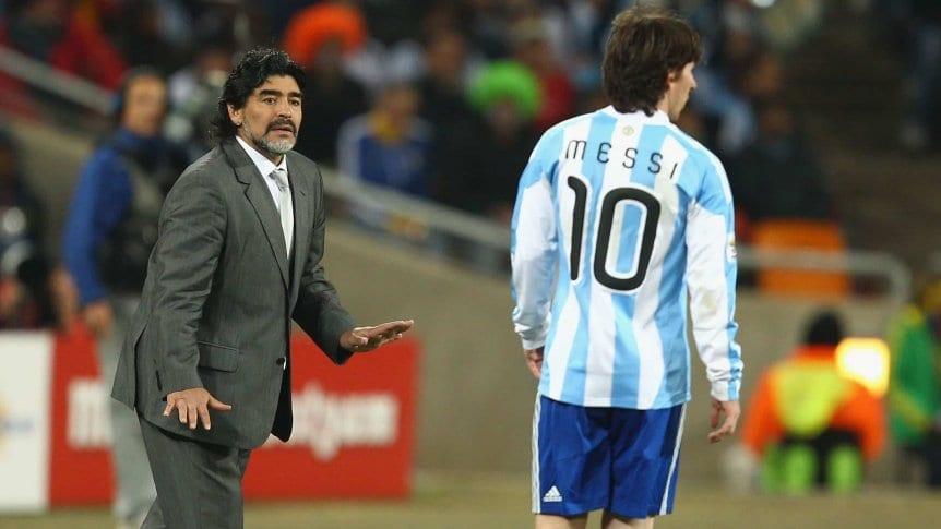 El enroque que podría terminar con Maradona como DT de Defensa y Justicia