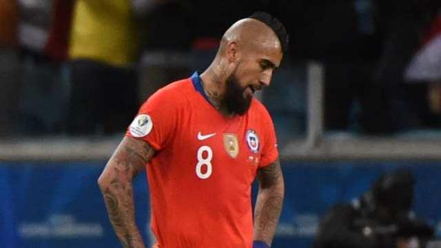 Arturo Vidal: 'El partido con Argentina no tiene importancia'