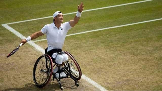¡Gustavo Fernández es finalista de Wimbledon!