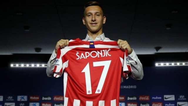 Atlético de Madrid le dio la bienvenida a un nuevo delantero