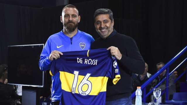 De Rossi: 'El objetivo es ganar todo con Boca'