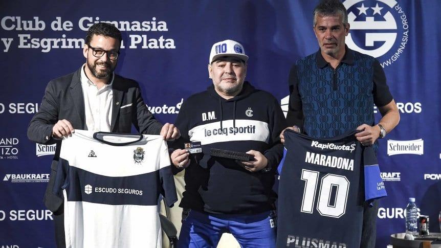 Pellegrino no se presenta: ¿Maradona se va de Gimnasia?
