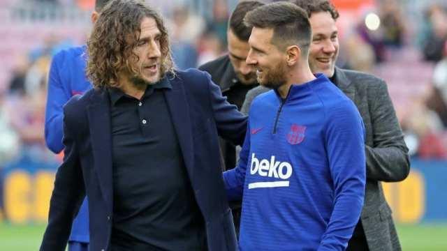 Puyol, sobre la salida de Messi: 'Respeto y admiración, Leo'