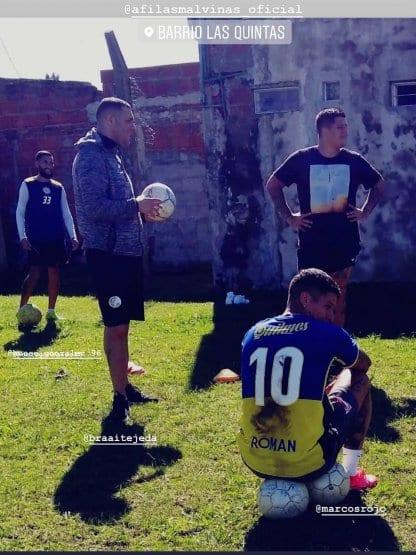 Marcos Rojo, a un paso de ser jugador de Boca