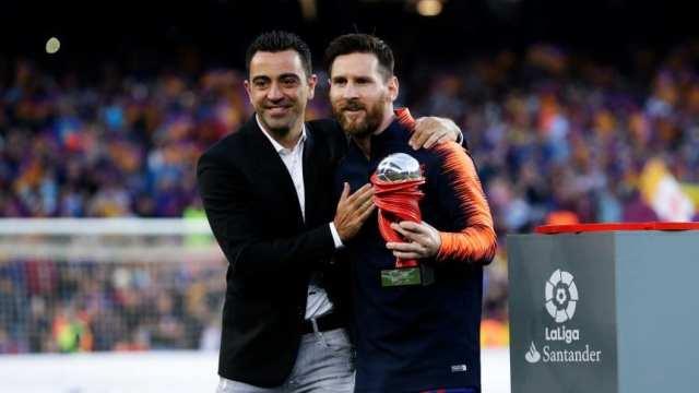Xavi: 'No tengo dudas de que Messi jugará en el Mundial de Qatar 2022'
