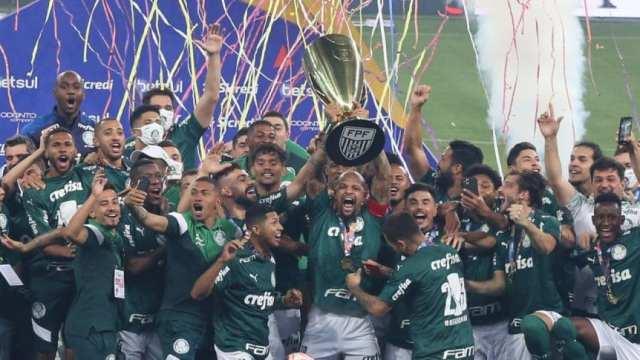 Palmeiras le ganó a Corinthians y gritó campeón en el Paulista