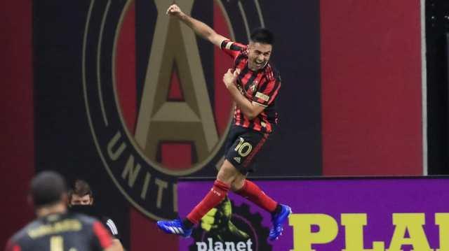 El Pity hizo festejar a Atlanta United con dos golazos