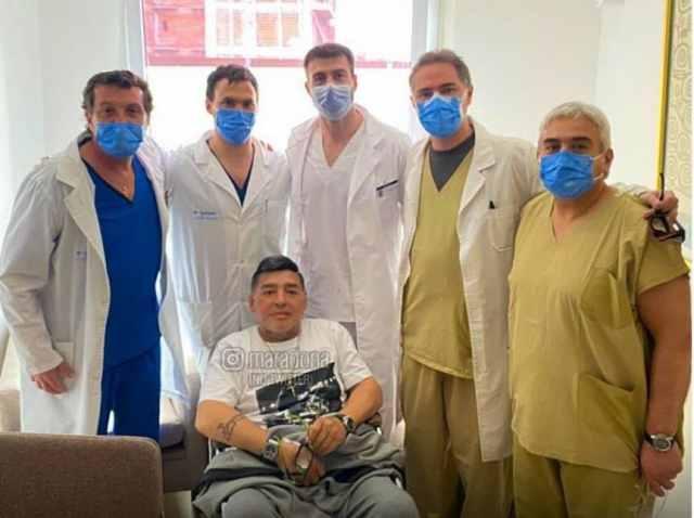 ¿Que pasa con la salud de Maradona? Diego, internado en La Plata
