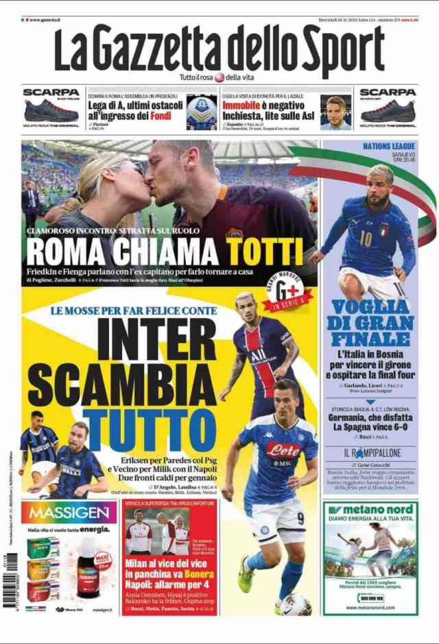 En Italia aseguran que Inter insistirá por Leandro Paredes