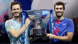Koolhof and Mektic, doubles champions at the London Masters