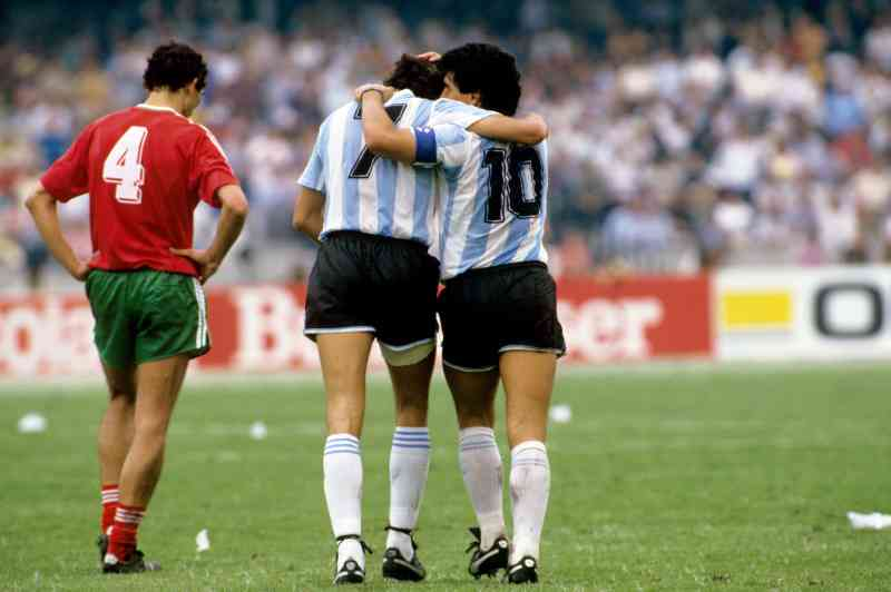 """Jorge Burruchaga, tras la muerte de Maradona: """"Era lo que el mundo del  fútbol no quería ver"""" - TyC Sports"""