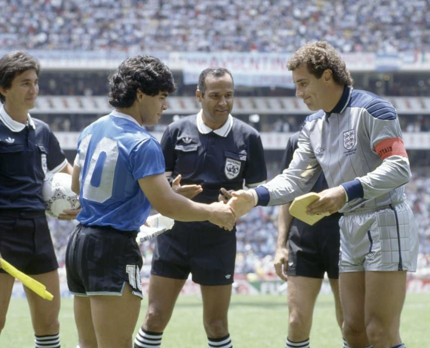El árbitro de la Mano de Dios lloró por Diego Maradona