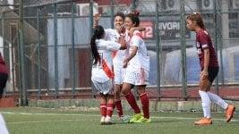 Arrancó el fútbol femenino con goleadas de Boca, River, Racing y UAI Urquiza