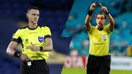 Roldán and Ostojich: the referees for Santos-Boca and Palmeiras-River for Copa Libertadores