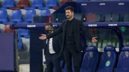 Diego Simeone reached a historic record at Atlético de Madrid