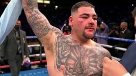 Andy Ruiz Jr. volvió con un triunfo