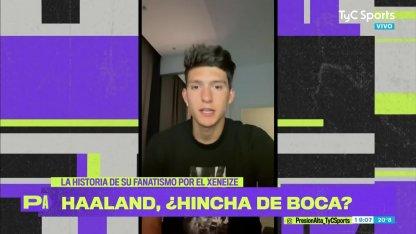 Leonardo Balerdi revealed that Erling Haaland is a Boca fan