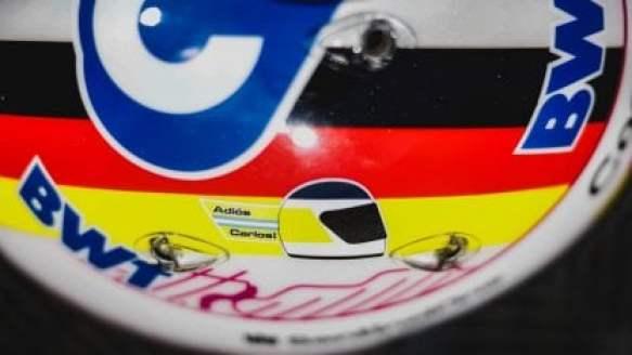 El tetracampeón del mundo de F1 lleva un diseño especial este fin de semana en Silverstone.