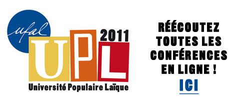 Retranscriptions audio de l'UPL 2011