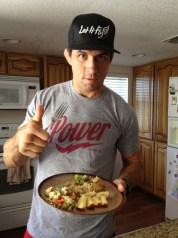UFC welterweight Aaron Simpson