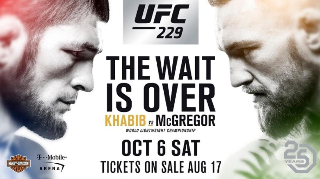 Image result for Khabib Nurmagomedov vs. Conor McGregor poster