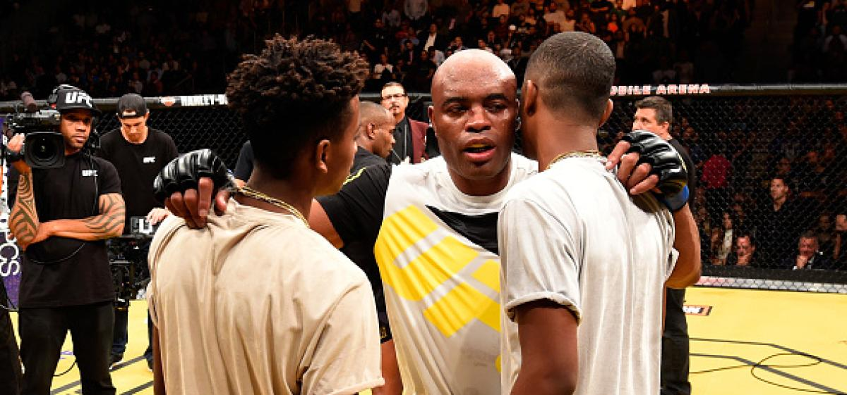 Anderson Silva S Sons Talk Relationship With Their Father